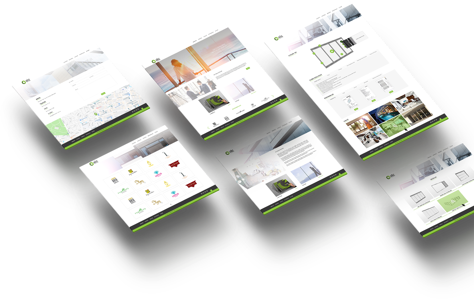 web design catalog design eliz
